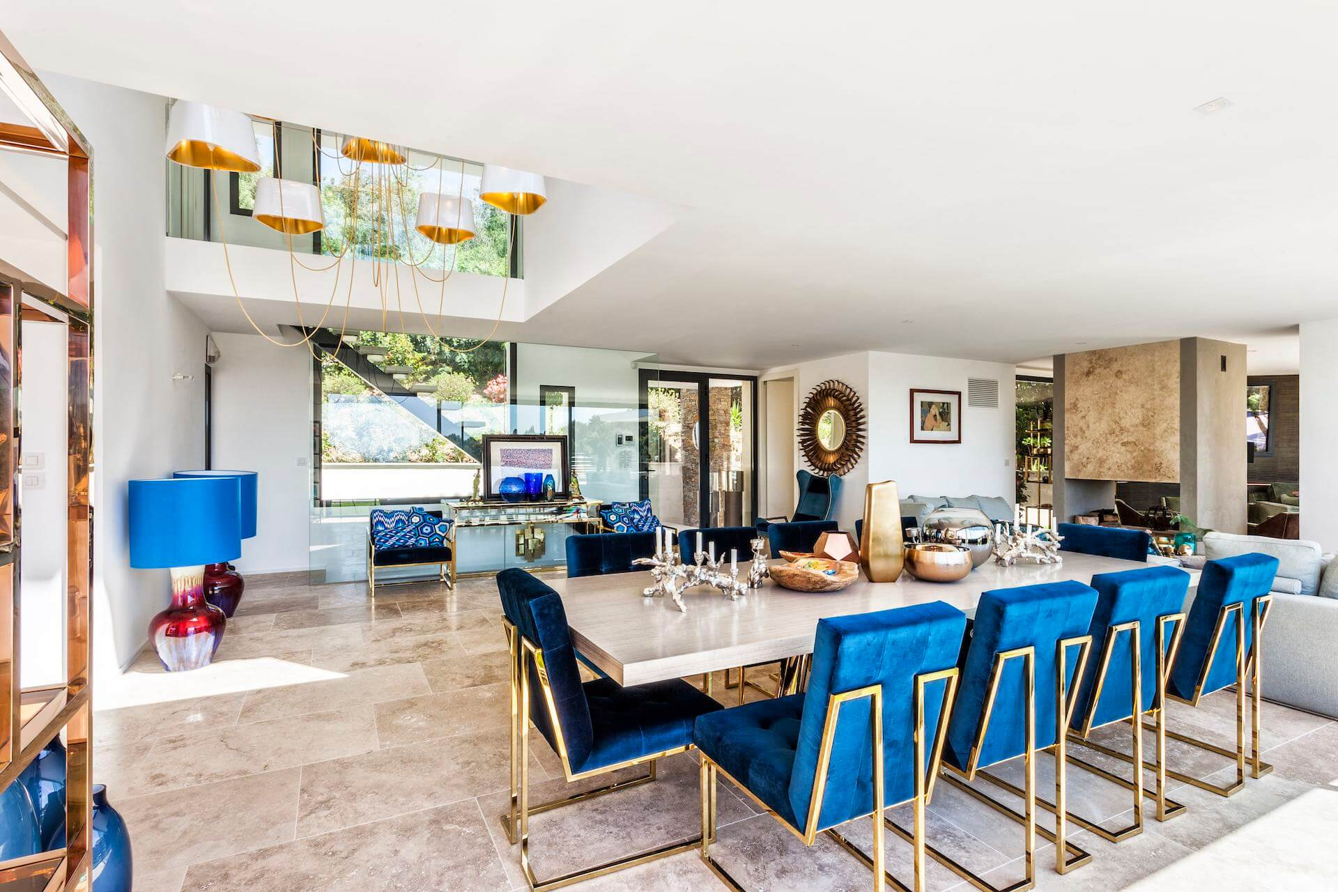 Living room of Villa Colibri
