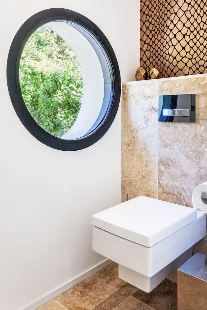 villa bathroom toilet